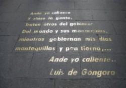 La casa de Góngora en Madrid. De Góngora a Pérez Reverte, pasando por Góngora