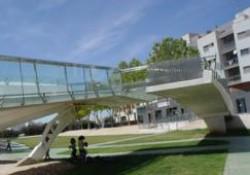 El premiado internacionalmente Puente del Beso de Pilar de la Horadada (Alicante)