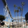 La palmera centenaria y su espectacular protección/mirador de Daya Vieja (Alicante)