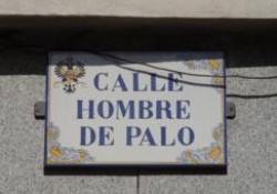 Calle del hombre de Palo de Toledo