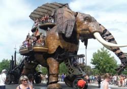 El Grand Éléphant de Nantes (Francia)