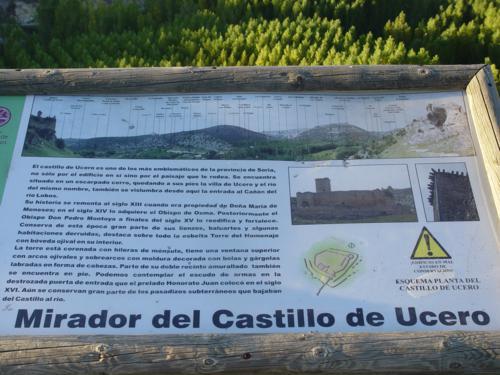 Mirador del Castillo de Ucero