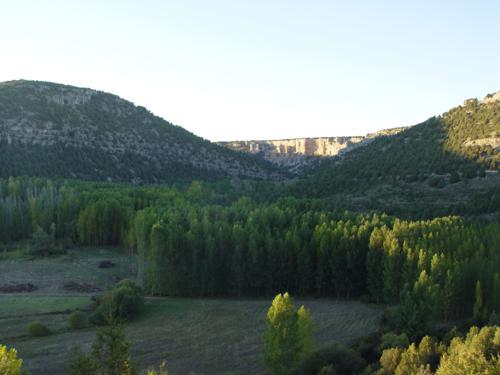 Chopera y entrada al Cañón de Río Lobos
