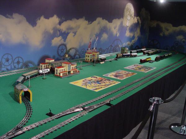 Maqueta de tren de 18 metros cuadrados del año 1930_600x450