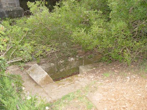 Restos de una de las tumbas en el Cementerio de los ingleses (Denia) 1_500x375