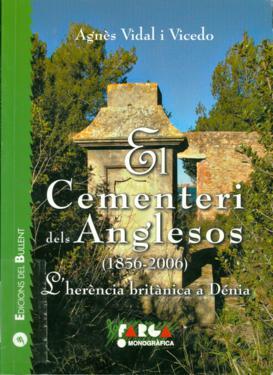 Tapa El cementerio dels Anglesos. L´Herència a Dénia (1856-2006)_273x375
