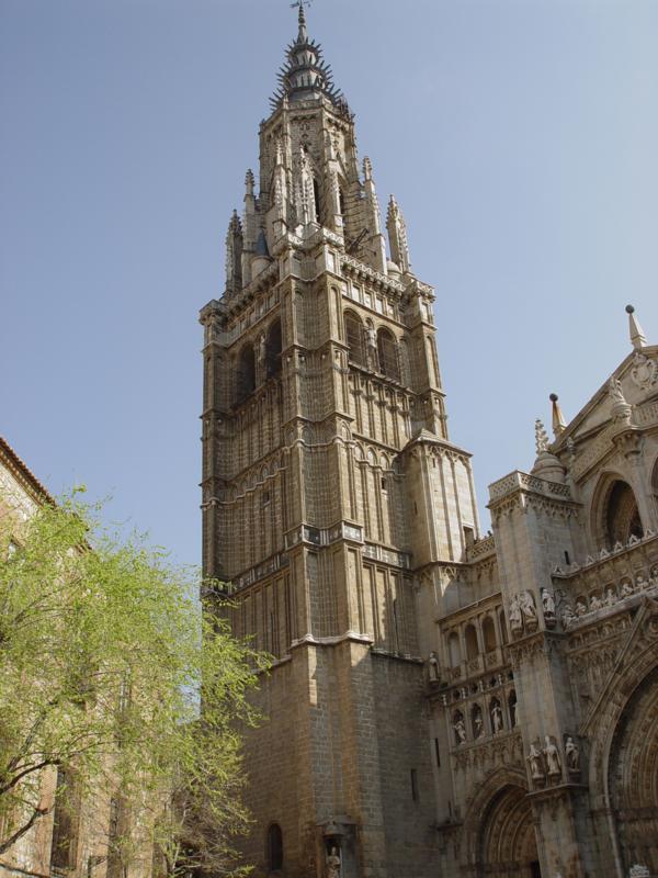 La torre del Campanario de la Catedral de Toledo