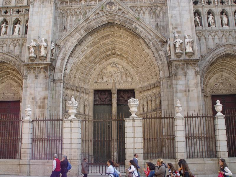 Pórico de las Palmas de la Catedral de Toledo