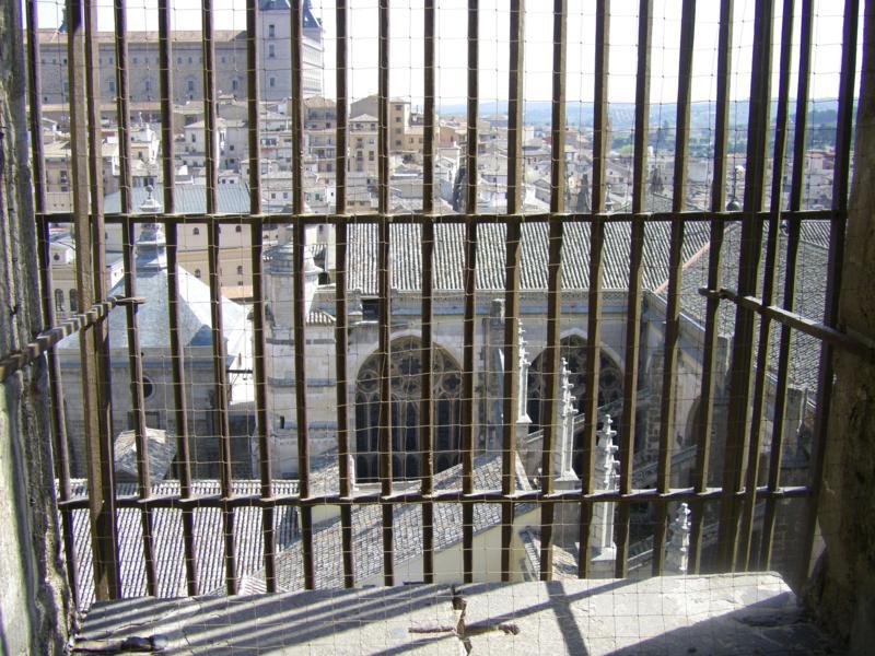 Vistas desde de Toledo desde el Campanario (Catedral de Toledo)