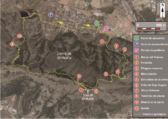 Itinerario para senderistas (Curz de la Muela-Barranco de las Minas)_587x417