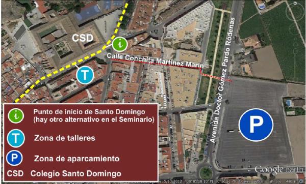 Punto de inicio de Santo Domingo (Itinerario para familias)_600x362
