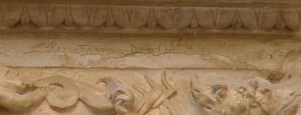 Firma de Bécquer en convento de San Clemente el Real de Toledo 1_600x231
