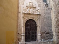 Portada plateresca del convento de San Clemente el Real de Toledo_243x182
