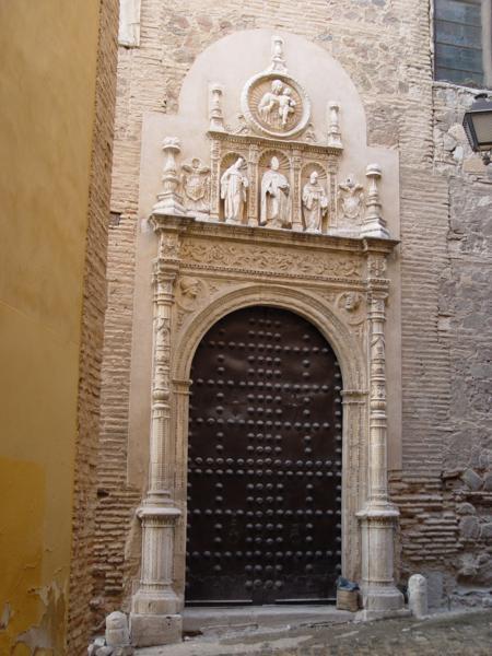 Portada plateresca del convento de San Clemente el Real de Toledo_450x600