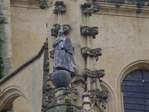 Arcángel San Gabriel de la Catedral de Segovia_600x450
