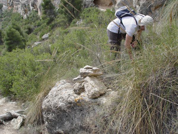 Montículo de piedras en el Monte Arabi (Yecla. Murcia)_600x450