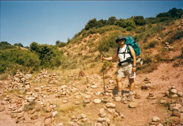 Montículos de piedras en Alto de San Antón (Ventosa, Logroño)_600x413