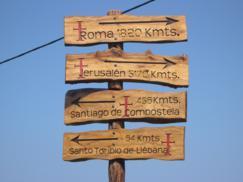 106 Peregrinación a San Toribio de Liebana 6-08-2006. Comillas_243x182