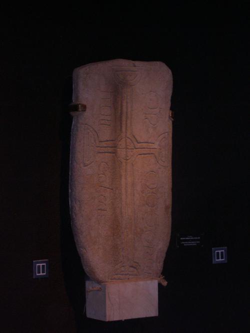 Lápida Precristiana (1).Monasterio de Clonmacnoise (Irlanda) _500x667