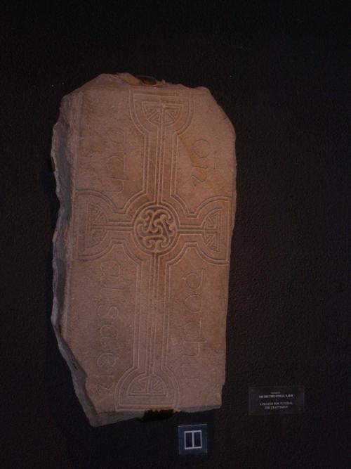 Lápida Precristiana (2).Monasterio de Clonmacnoise (Irlanda) _500x667