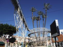 La palmera centenaria y su espectacular protección-mirador de Daya Vieja_243x182