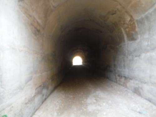 Túnel que hemos de cruzar en nuestro pateo_500x375