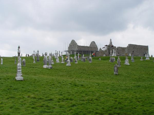 Templo de Melaghlin, Monasterio de Clonmacnoise (Irlanda)_600x450