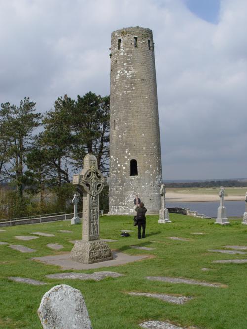 Torre redonda, Monasterio de Clonmacnoise (Irlanda)_500x667