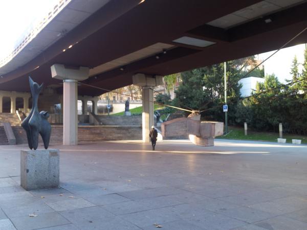 Vista general del museo desde la entrada por La Castellana_600x450