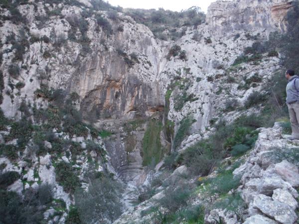 Cauce abructo del río Girona en el Barranco del Infierno_600x450