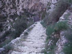 Escaleras en el Barranco del infierno_243x182