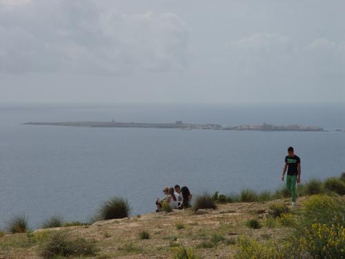 Isla de Nueva Tabarca desde el Foro de Santa Pola_500x375