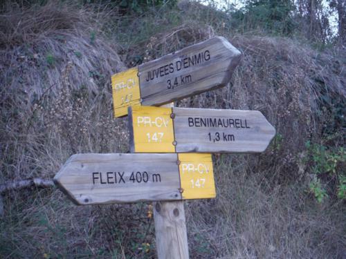 Señal donde decidiremos la orientación de nuestra ruta circular_500x375