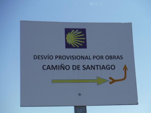 De Ferrol a Pontedeume. Cartel de desvío provisional por obras_500x375
