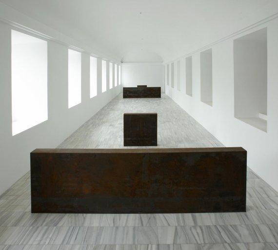 Escultura Equal-Parallel Guernica-Bengasi. Fuente. Ficha de la escultura
