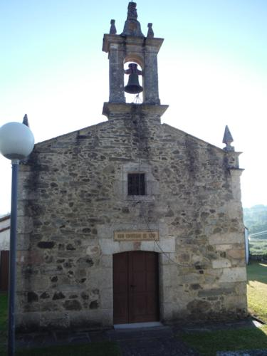 Iglesia de San Estevo de Cos. De Betanzos a Hospital de Bruma