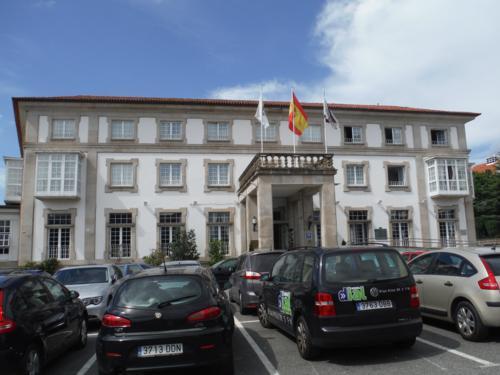 Camino de Santiago inglés. Parador Nacional de Ferrol