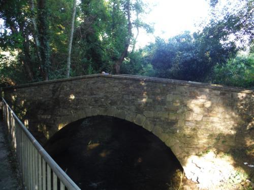 Puente de Baxoi. De Pontedeume a Betanzos