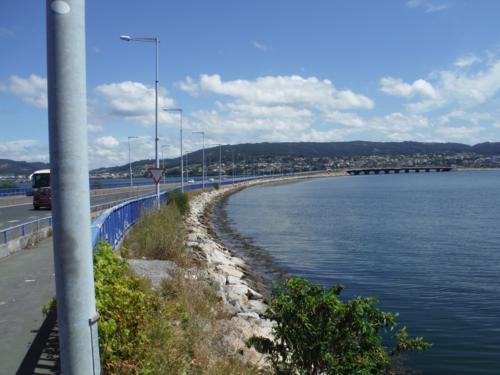De Ferrol a Pontedeume. Puente que cruza la ría por la N-651 y que podemos seguir_500x375