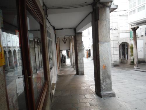 Señales del Camino de Santiago en Pontedeume. De Pontedeume a Betanzos