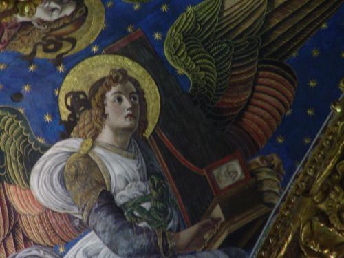Los ángeles renacentistas de la Catedral de Valencia