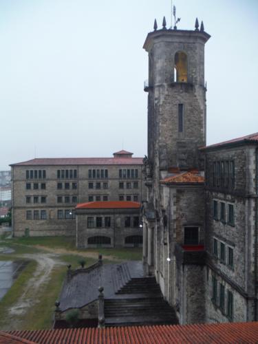 Cuando en Galicia quiere llover, lo hace a base de bien. De Sigüeiro a Santiago de Compostela