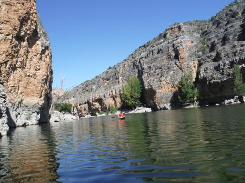Las Hoces del río Duratón desde el mismo río