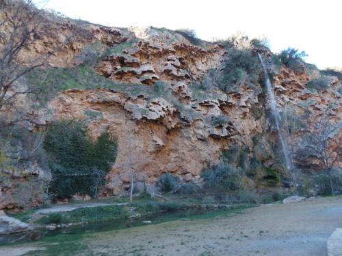 Cascada del Brazal en el Salto de la Novia