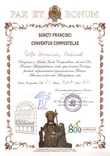 Sancti Francisci Conventus Compostelae. De Sigüeiro a Santiago de Compostela