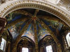 Vista general de los frescos_. Los ángeles renacentistas de la Catedral de Valencia