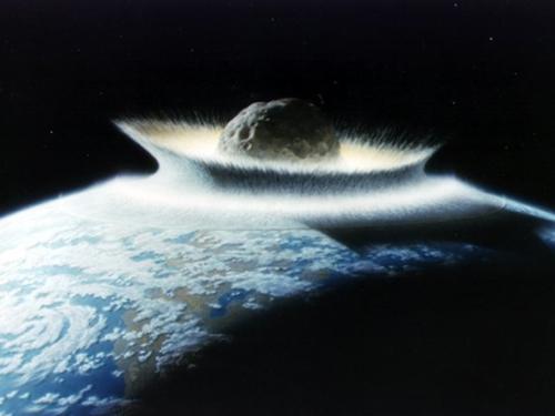 Representación del impacto hace 65 millones de años (Fuemte www.nasa.org)_500x375