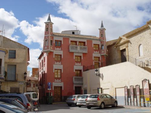 Casa del cura en Ulea (Murcia)