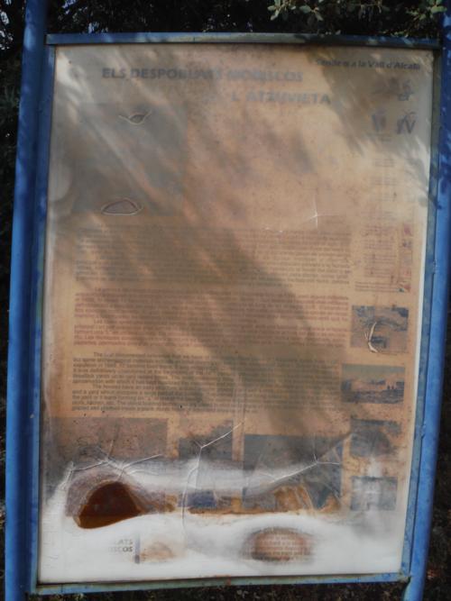 Despoblado morisco de L'Atzuvieta en Alcalá de la Jovada