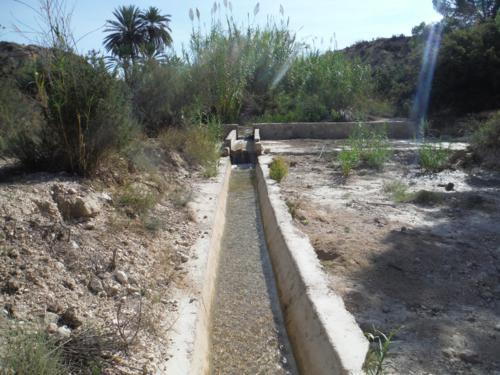 Recorrido del río Chícamo en Abanilla